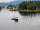 At anchor in Sitka